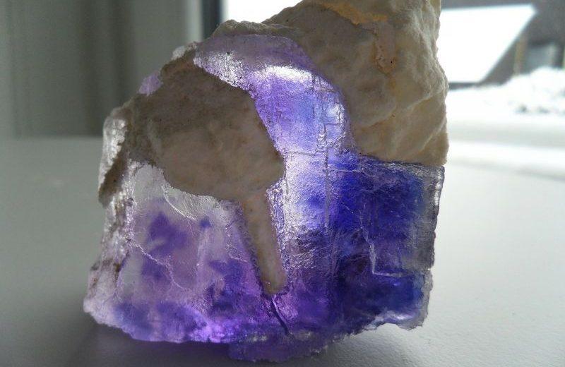 fluorita, propiedades y características